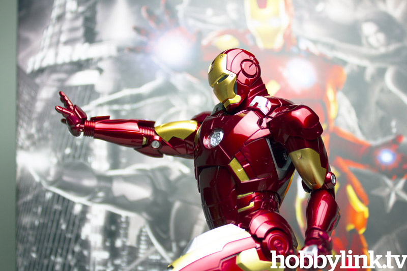 1/9 Avengers: Iron Man Mk.VII Action Hero Vignette (Pre-Painted Kit) from Dragon
