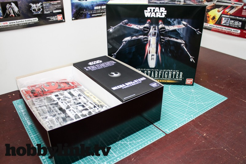 1-48 Star Wars X-Wing Starfighter Moving Edition-from Bandai unbox-1