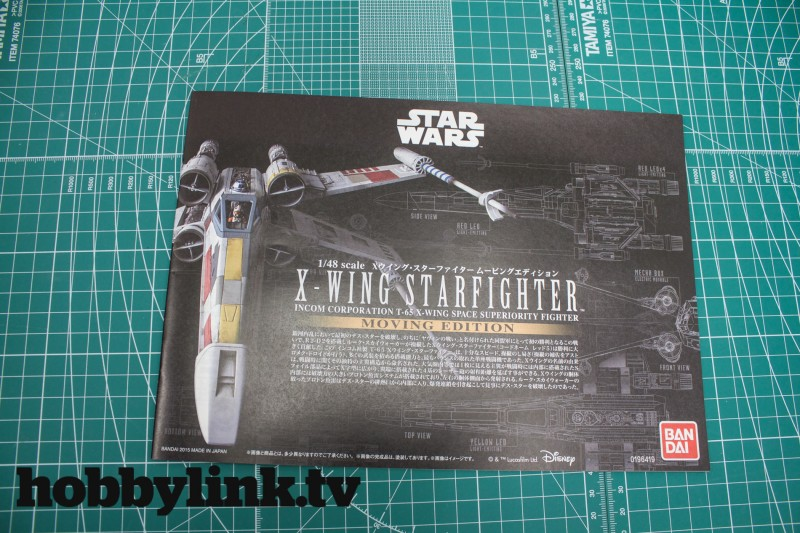 1-48 Star Wars X-Wing Starfighter Moving Edition-from Bandai unbox-13