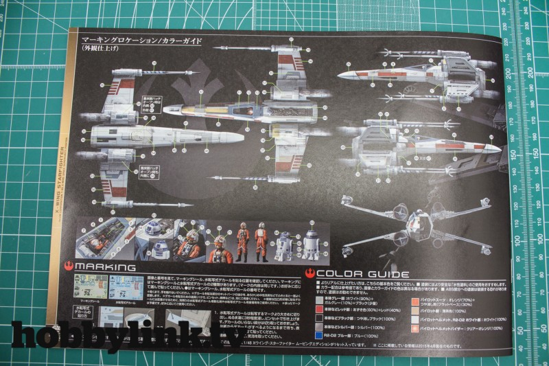 1-48 Star Wars X-Wing Starfighter Moving Edition-from Bandai unbox-15