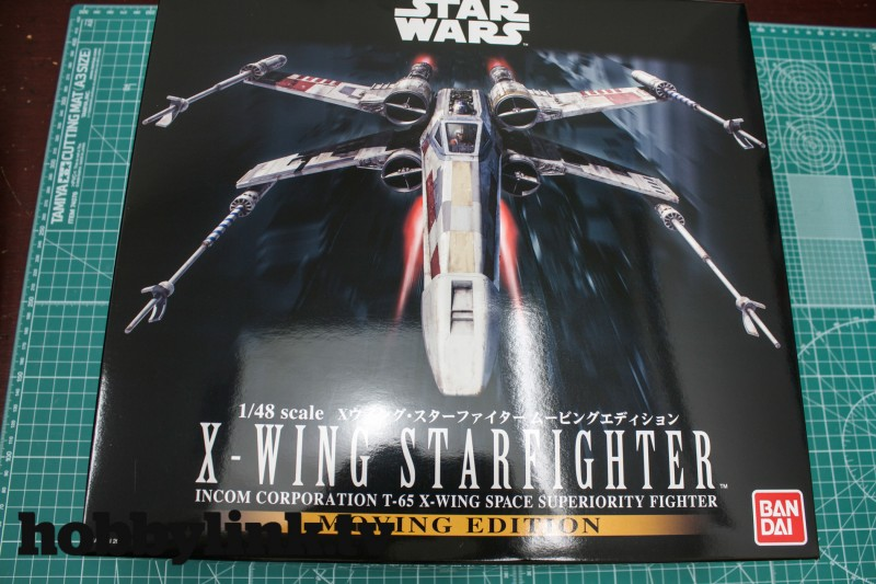 1-48 Star Wars X-Wing Starfighter Moving Edition-from Bandai unbox-3