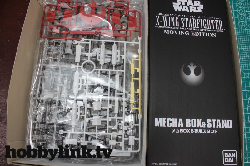 1-48 Star Wars X-Wing Starfighter Moving Edition-from Bandai unbox-9