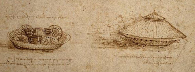 Leonardo-da-Vinci's-armored-car-invention-12