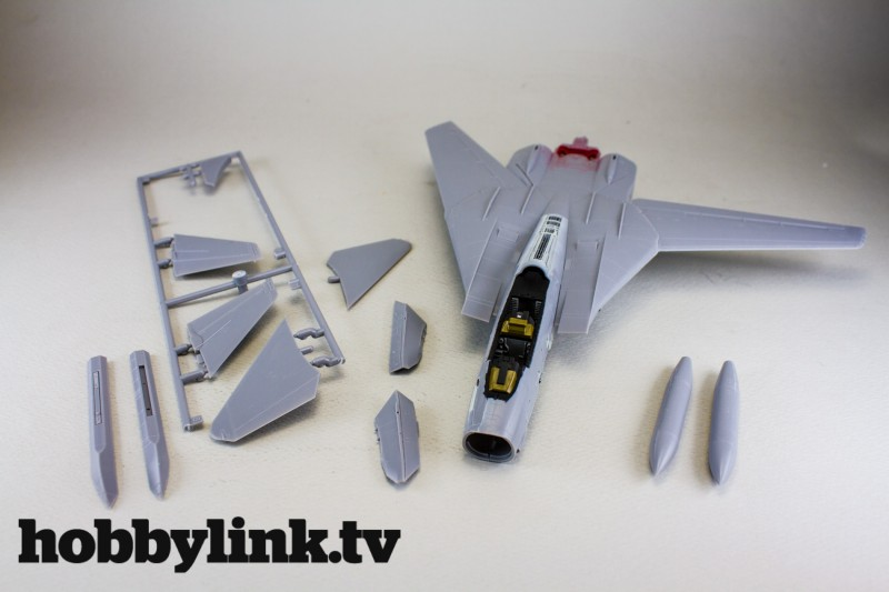 Model Graphix September 2015 Magazine Kit 1-72 F-14D Tomcat vol.3-7