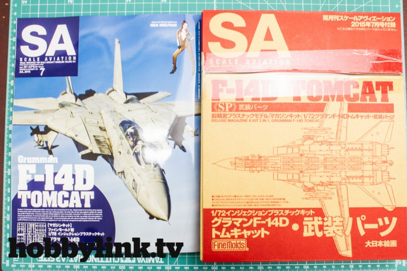 Scale Aviation Vol.104 w-Armed Parts for 1-72 F-14D Tomcat by Model Graphix-1