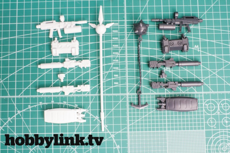 Revive RX-78-2 accessory kits by Bandai-10