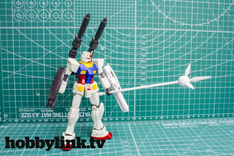 Revive RX-78-2 accessory kits by Bandai-17