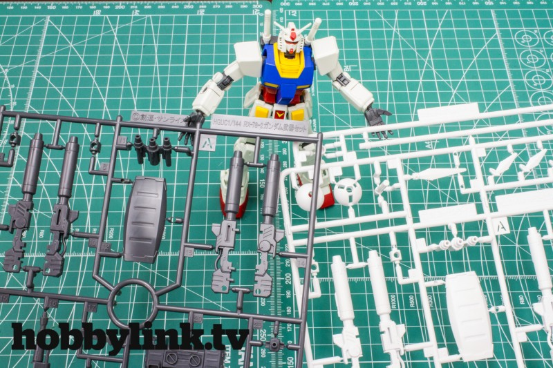 Revive RX-78-2 accessory kits by Bandai-7