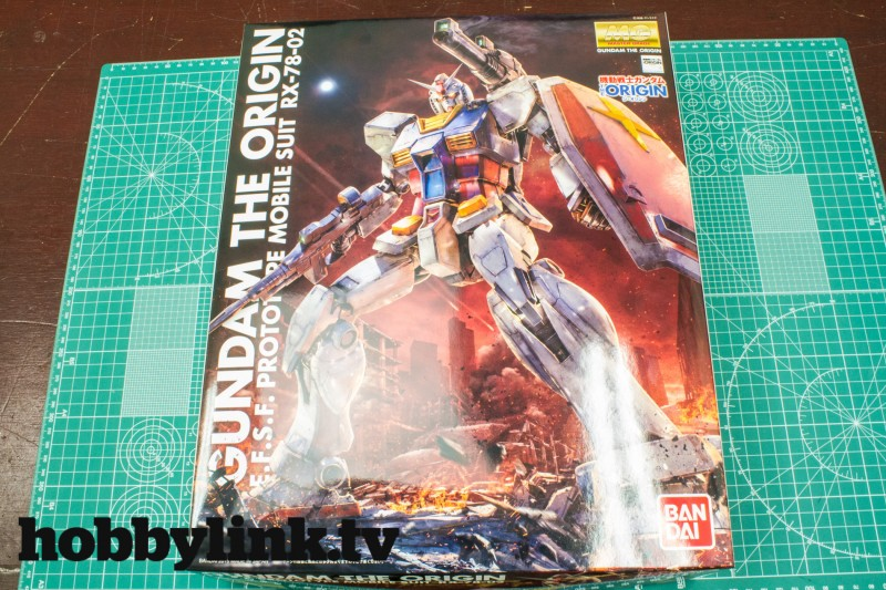 1-100 MG THE ORIGIN RX-78-02 Gundam by Bandai-1