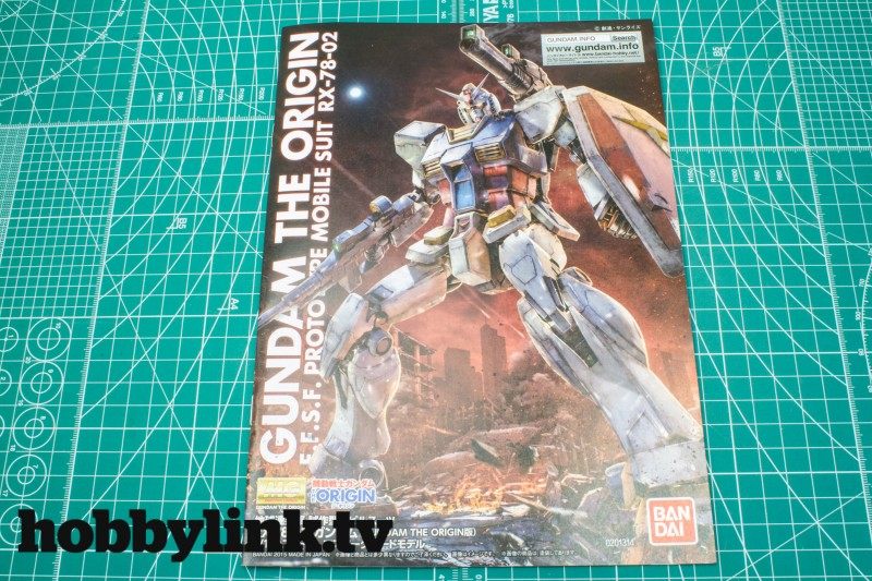 1-100 MG THE ORIGIN RX-78-02 Gundam by Bandai-3