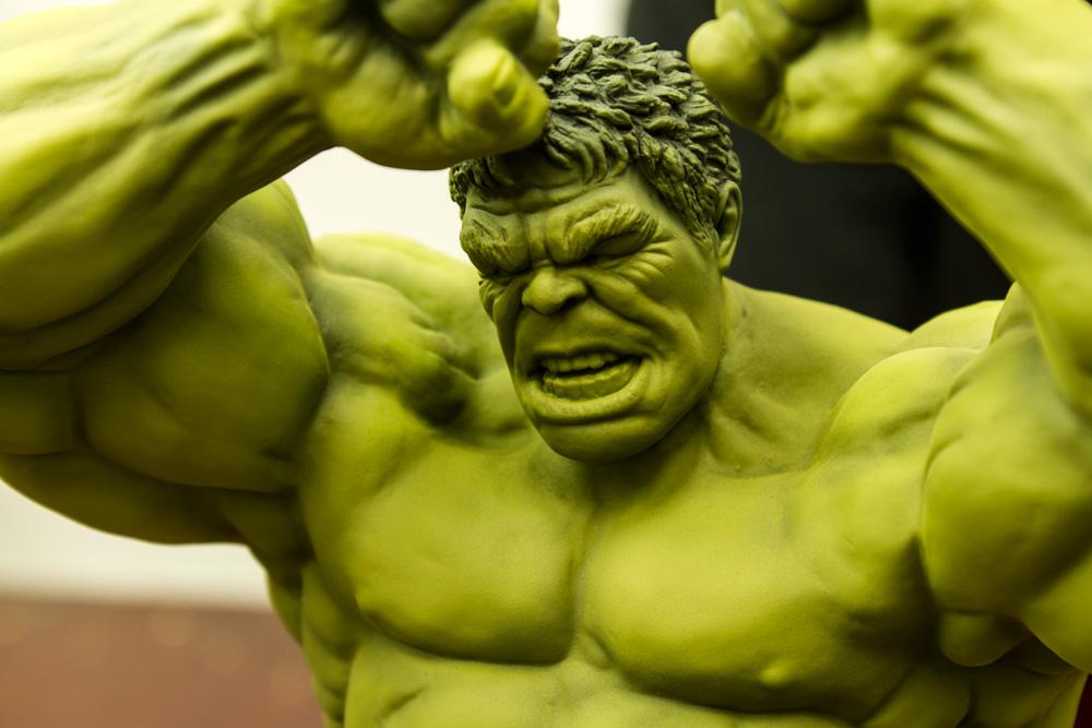 Hulk 2013 Avengers Avengers Hulk Unpainted Kit by