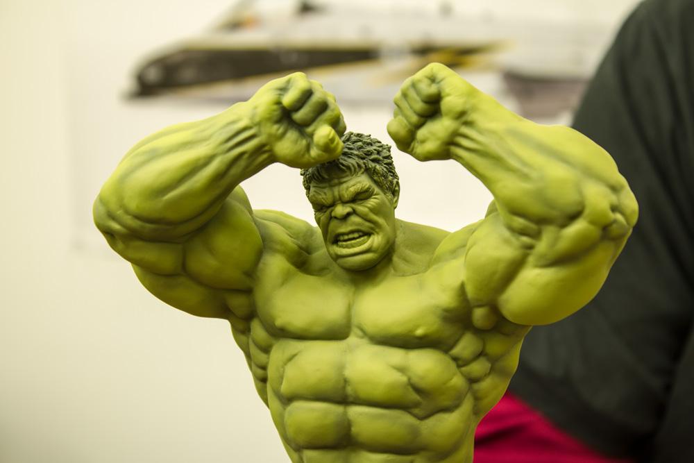 Hulk 2013 Avengers Avengers Hulk Unpainted Kit