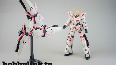 1-144 HGUC Full Armor Unicorn Gundam (Destroy Mode - Red color Ver.) by bandai-1