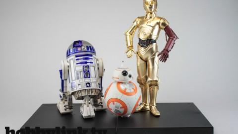 Star Wars Artfx+ R2-D2 & C-3PO with BB-8 by kotobukiya-1