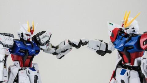 1-144 RG GAT-X105B - FP Build Strike Gundam Full Package-1