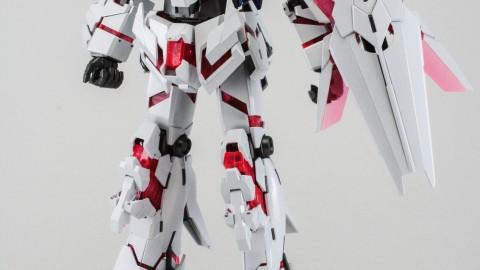 1-100 MG RX-0 Unicorn Gundam (Red or Green Frame Twin Frame Edition) Titanium Finish-1