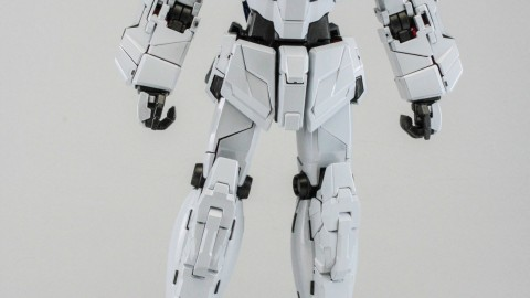 1-100 MG RX-0 Unicorn Gundam (Red or Green Frame Twin Frame Edition) Titanium Finish-10