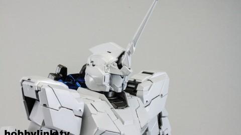 1-100 MG RX-0 Unicorn Gundam (Red or Green Frame Twin Frame Edition) Titanium Finish-12