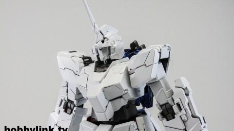 1-100 MG RX-0 Unicorn Gundam (Red or Green Frame Twin Frame Edition) Titanium Finish-13