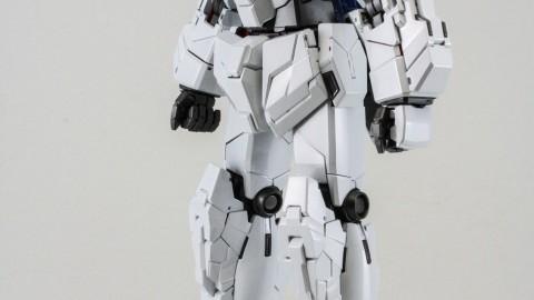 1-100 MG RX-0 Unicorn Gundam (Red or Green Frame Twin Frame Edition) Titanium Finish-14