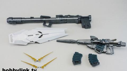 1-100 MG RX-0 Unicorn Gundam (Red or Green Frame Twin Frame Edition) Titanium Finish-18