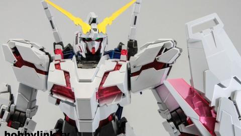 1-100 MG RX-0 Unicorn Gundam (Red or Green Frame Twin Frame Edition) Titanium Finish-4