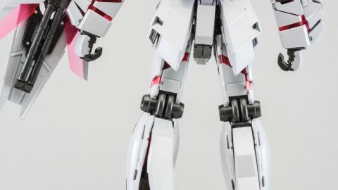1-100 MG RX-0 Unicorn Gundam (Red or Green Frame Twin Frame Edition) Titanium Finish-5