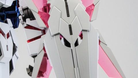 1-100 MG RX-0 Unicorn Gundam (Red or Green Frame Twin Frame Edition) Titanium Finish-8